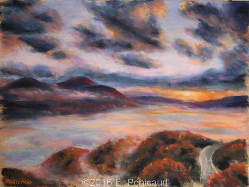 Mont Aso Pastel sec